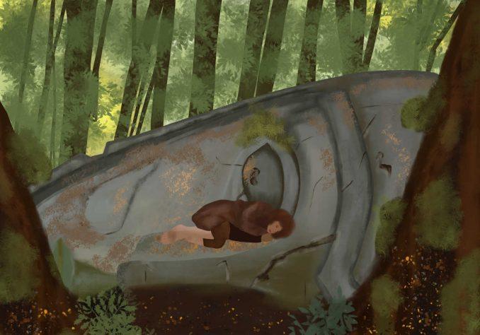 Frodo at Parth Galen