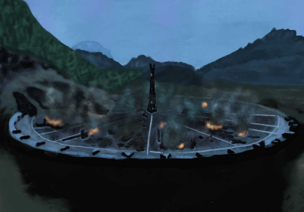 Saruman and Isengard