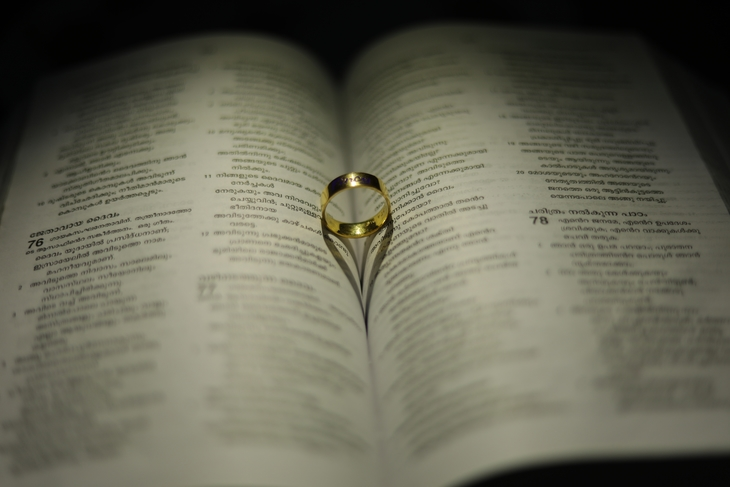 Book with a ring