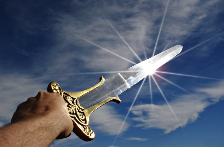 Sword in the sun