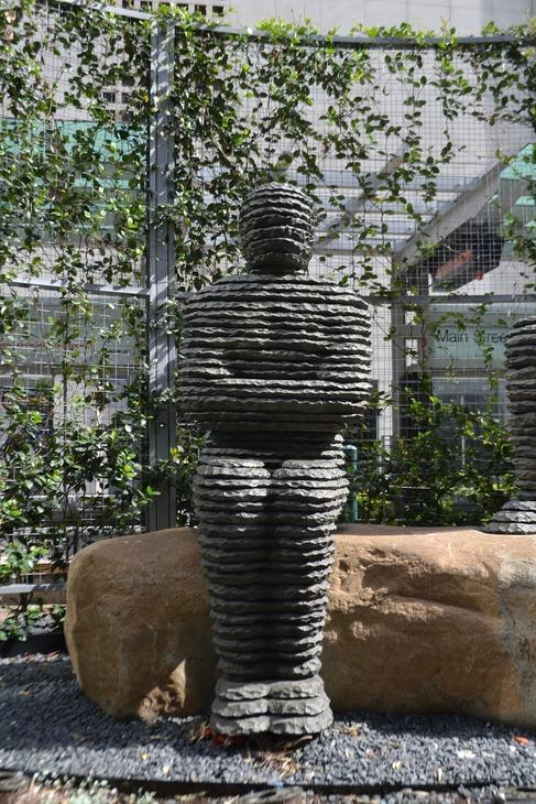 Mummy statue