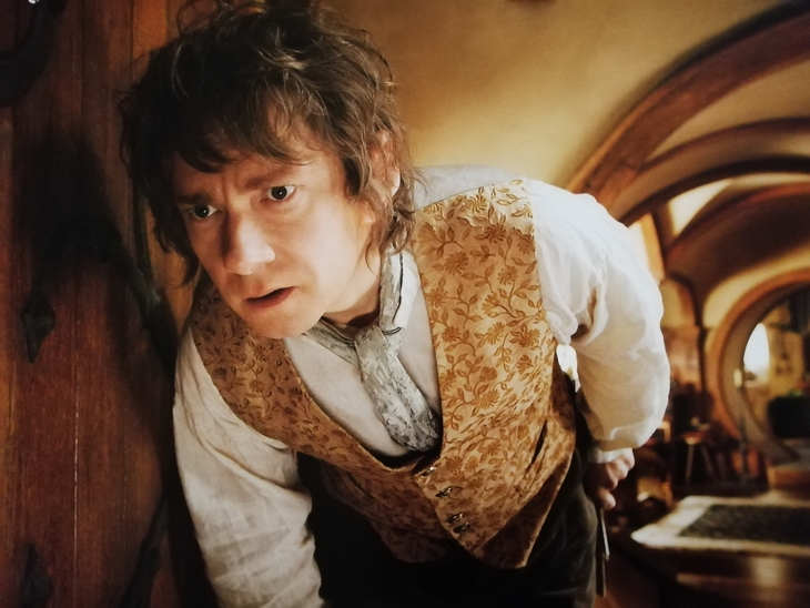 Bilbo at home