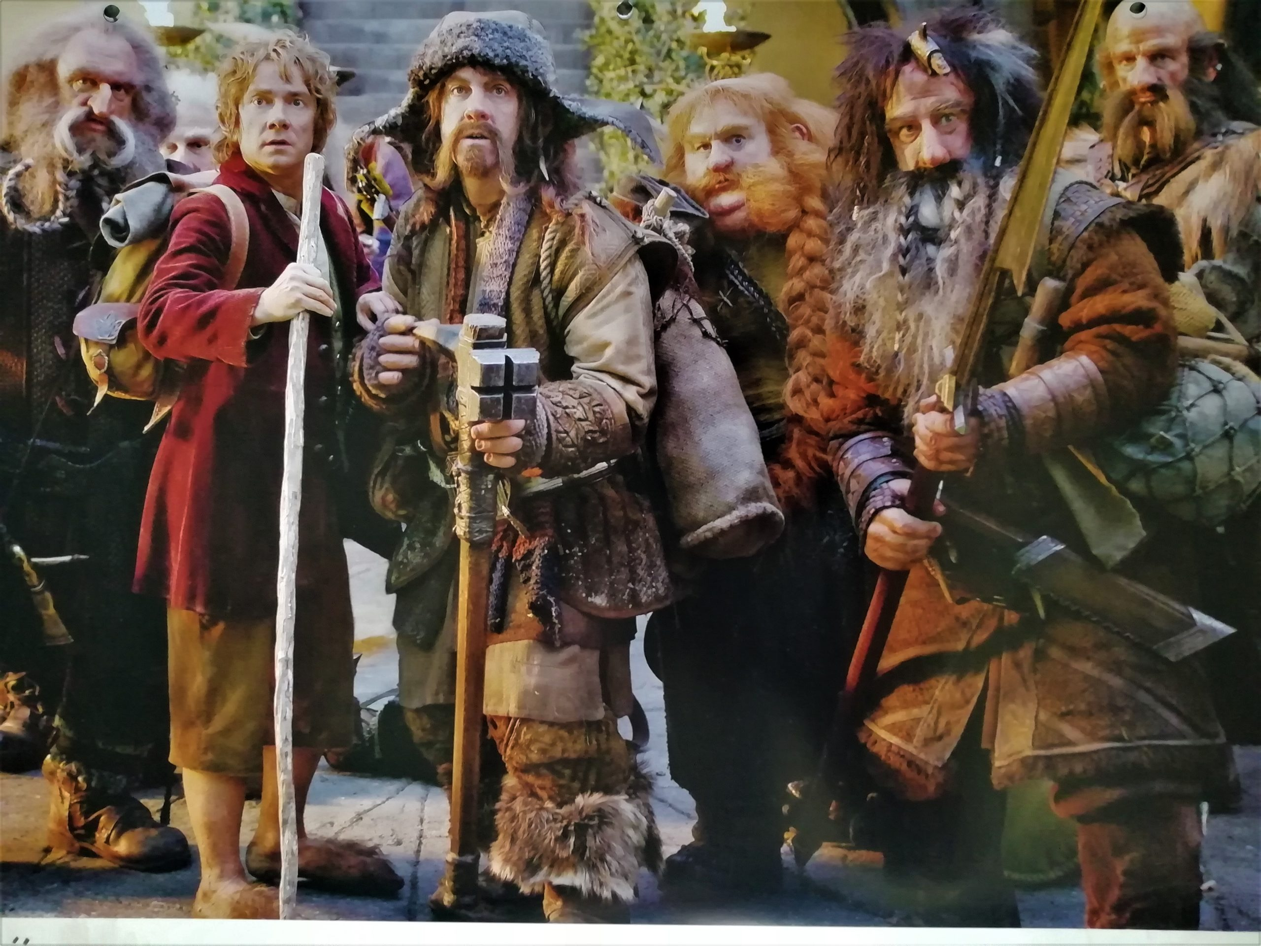 Dwarves in Rivendell